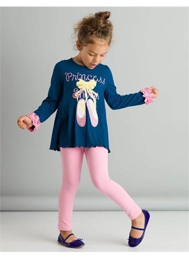 Denokids Princess Shoes Tunik Takım Renkli